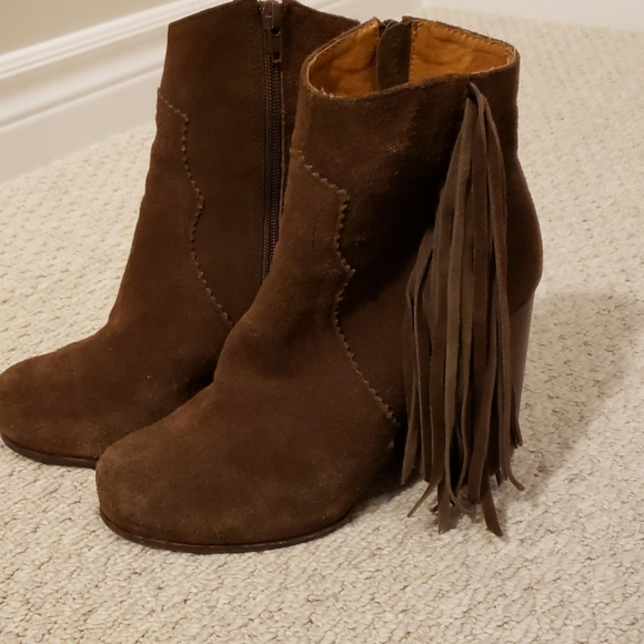 Jeffrey Campbell Shoes - JEFFREY CAMPBELL suede boots